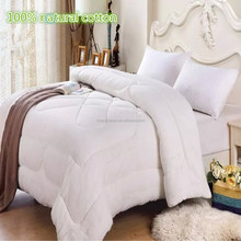 Wholesale hot sale soft touch China kids pure natural cotton quilted quilt