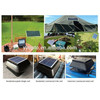 manufacture in china solar panel for solar powered auto cool fan air vent