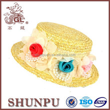 cotton children christmas paper bucket hats