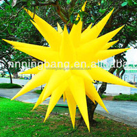 New style Customized inflatable Star for Wedding decoration