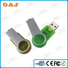 Customized Logo Printing 2GB~64GB Cheap 4 Swivel thumb drive, Factory Supplier