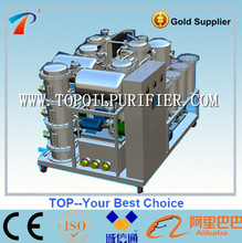 Zero pollution used oil recycle machine,oil distillation technology,stainless steel materials