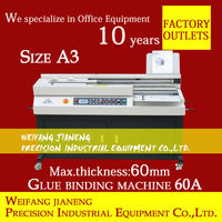 A3 Automatic Perfect Binding Machine JN-60A with FREE GLUE+10 lbs