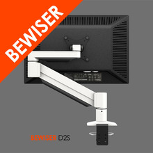 Single lcd monitor desk mount bracket for computer accessories