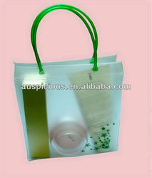 Canvas wholesale tote bags waterproof tote bags with zipper for swimsuit