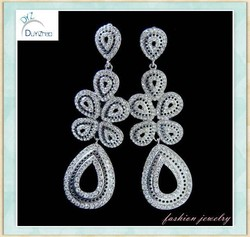 Charming & Droplight form earing ror brides