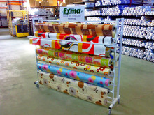 supermarket display rack/kitchenware display stand/display stands for fabrics