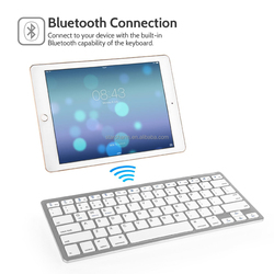 Computer accessory slim cheap bluetooth keyboard for ipad for laptop