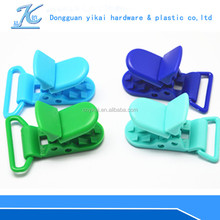 wholesale plastic spring pacifier clip for baby,plastic office paper clip,plastic soother holder clip