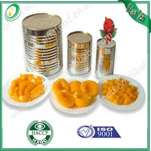 canned peach /canned yellow peach / canned fruit in light syrup