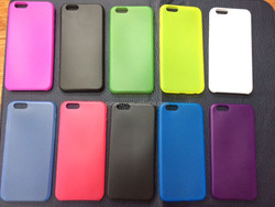 Colorful soft gel silicone mobile case for iphone 5/5S/6/6puls Wholesale Cell Phone Accessory