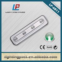 4 led plastic long led mini push light