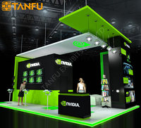 TANFU Design Exhibition Booth for Trade Show (100% Customized)