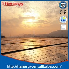 Hanergy 20kw solar panels for household system on flat roof