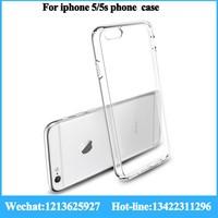 high quality 0.3mm/0.5mm/0.6mm tpu bumper pc phone case for iphone5/5s/5c tpu phone case machine tpu phone case