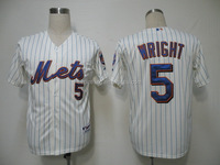 New York Mets Cool Base David Wright #5 Home Jersey