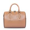 Shenzhen Designer Handbag Genuine Leather Boston Handbags Ladies Bags Old Fashioned