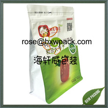 China factory custom red date vacuum packing plastic bag with ziplock