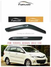 TOYOTA AVANZA 2012 CAR DOOR VISOR RAIN DEFLECTOR