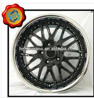 15inch 5*114.3 ET 0 bolt pattern aluminum alloy black wheel rim from RAYS