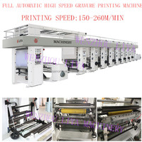 LIYA LY-YAD Series China Best Plastic Film High Speed Computer Control gravure printing machine