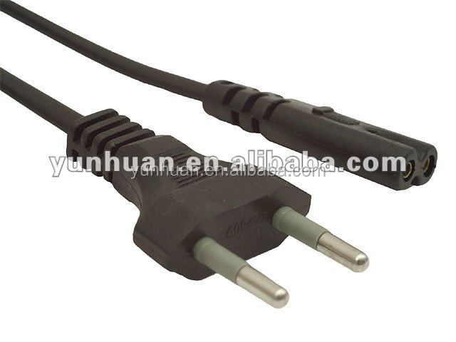 AC Euro Power Cord mains lead VDE approved