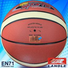 pvc pu leather colorful basketball promotions