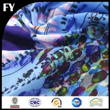 Factory high quality digital printed imported silk fabric