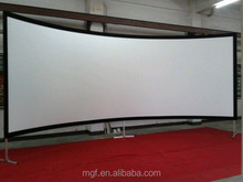 """16:9 200"""" Curved Fixed Frame Projector Screen / Curved Projection Screen/Curved Screen"""