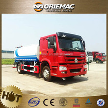 Sinotruk Howo 10cbm water tank truck capacity fuel tank truck for sale