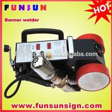 Heat jointing machine /NEW cheap Hot air pvc banner welder / Banner welding machine