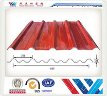 Best selling corrugated roof color coated galvanized sheet metal prices