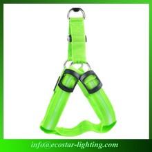 2015 High-technology Night LED Pet Dog Vest Harness Supplier