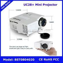 UC28+ Mini Projector,NO.182 3d mini projector for samsung galaxy s4