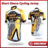 2012 New arrival sportwear Coolmax/recycle/coolfresh digital sublimated cycling wear