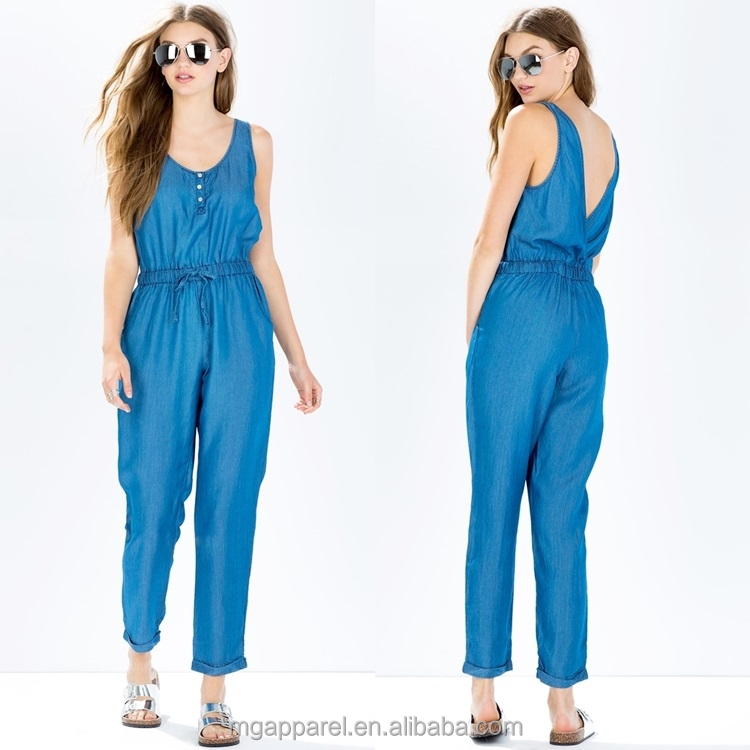 china manufacturers one piece jumpsuit sleeveless women. Black Bedroom Furniture Sets. Home Design Ideas