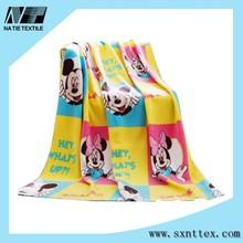New Hot Carton Mickey Baby Blanket 120*150cm Thick Warm Spring Blankets Super Soft Fleece