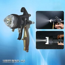 liquid Image double nozzle spray gun for chrome spray plating