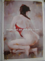 Newest arrive sexy nude girl oil painting of Nude003