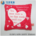 Cojín o almohada felpa, juguetes Modificado, CE / stardard seguridad ASTM
