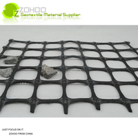 ZOHOO 50KN for construction biaxial plastic geo grid