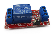 1 road relay module with optical coupling isolation support high and low level trigger 5v