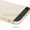 New arrival and Hot sale for iphone 5s 24kt rose gold plated housing replacement with diamond