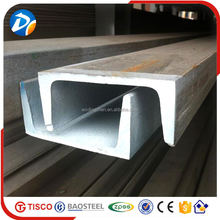 jis g3101 ss400 specification stainless steel channel in alibaba china