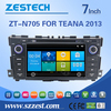 touch screen car dvd gps player accessories for nissan teana parts with A8 chipset auto radio entertainment