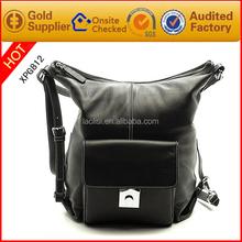 Guangzhou manufacturing fashion handbags women leather hobo bag