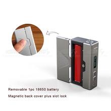 Durable box mod Kamry 30 V2 vape variable watt 7-30W Magnetic back cover for replacing battery