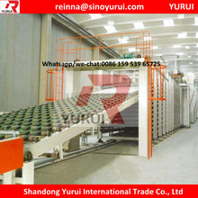 Hot Production Gypsum Board Manufacturing Line /gypsum board line production