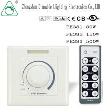 LED Dimmer with Remote Controller/LED Trailing edge phase dimmer