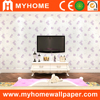 Decoration closeout embossed wrapping paper PVC wallpaper
